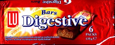 digestive choklad bars